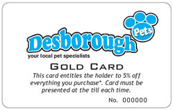 Desborough Pets - Gold Card