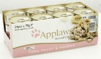 Applaws Tin Tuna Fillet & Prawn 70g