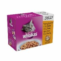 Whiskas Pouch Jelly Poultry Selection