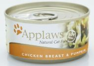 Applaws Tin Chicken & Pumpkin 156g X 24