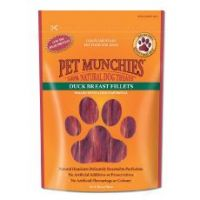 Pet Munchies Duck Fillets Dog Treats 100g