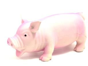 Rosewood Latex Grunting Pig Toy Large