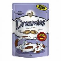 Dreamies Cat Treats Duck