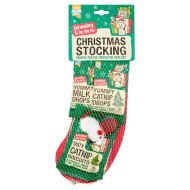 Good Girl Cat Treats Christmas Stocking