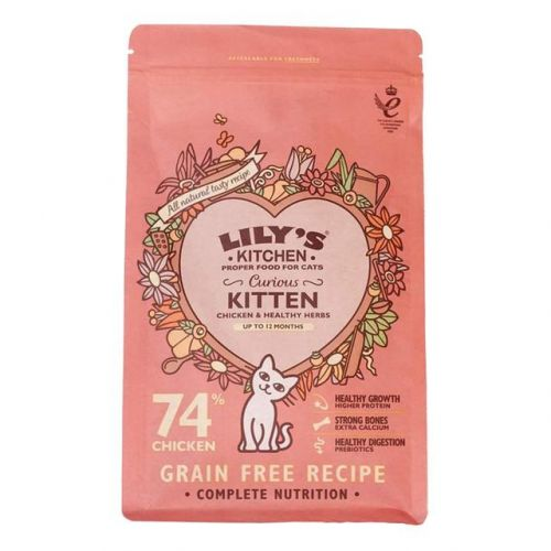 Lily's Kitchen Kitten Chicken Dry Cat Food 800g