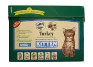 James Wellbeloved Kitten Pouch Turkey (12 Pk)