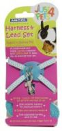 Ancol Rabbitt & Small Animal Harness & Lead Set (Blue)