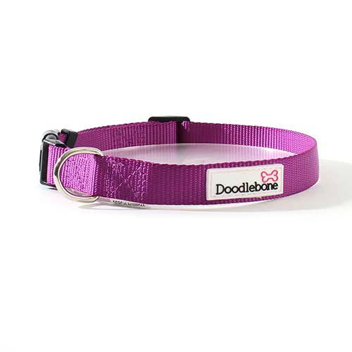 Doodlebone Collar Medium Purple