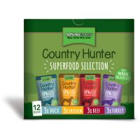 Natures Menu Multipack Dog Country Hunter 12pk 150g