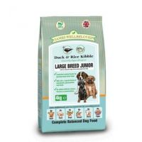 James Wellbeloved Junior Large Breed Duck & Rice 4kg