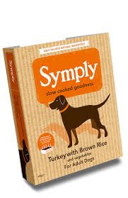 Symply Wet Food Tray Adult Turkey & Rice 7 pack