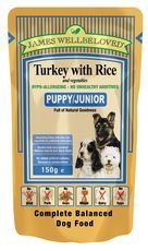 James WellbeJames Wellbeloved Pouch Puppy Turkey