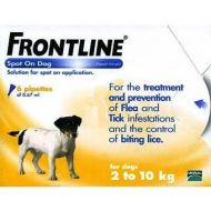 Frontline Small Dog 3 Pack  2 -10kg